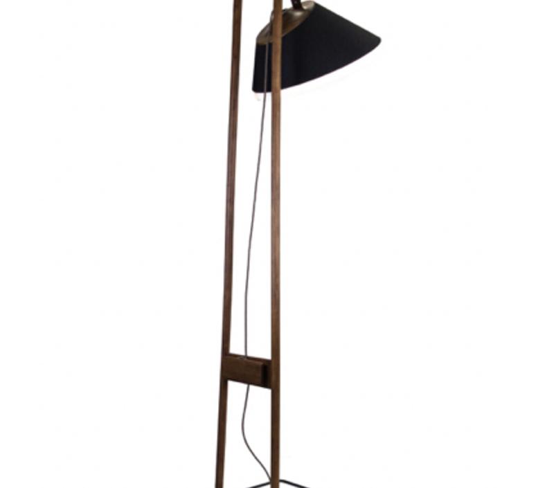 Lampadaire natacha kopec et gary berche lampadaire floor light  kngb kngb floor noyer massif  design signed nedgis 78168 product
