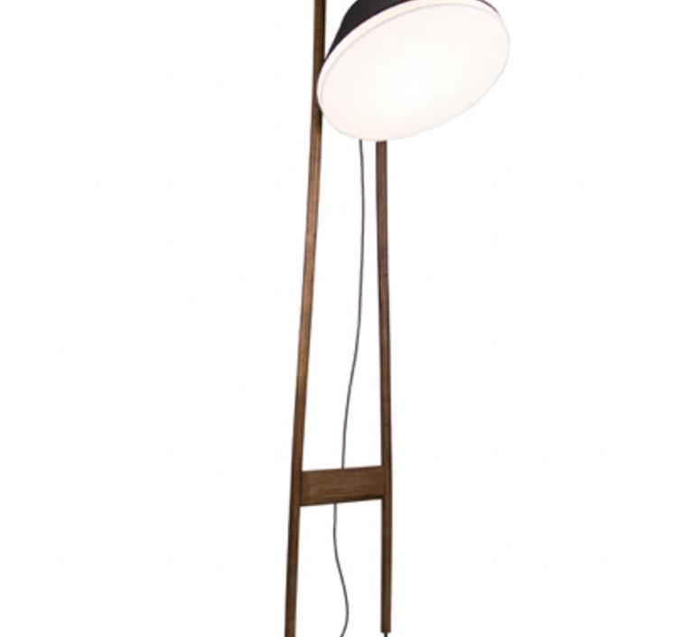 Lampadaire natacha kopec et gary berche lampadaire floor light  kngb kngb floor noyer massif  design signed nedgis 78172 product