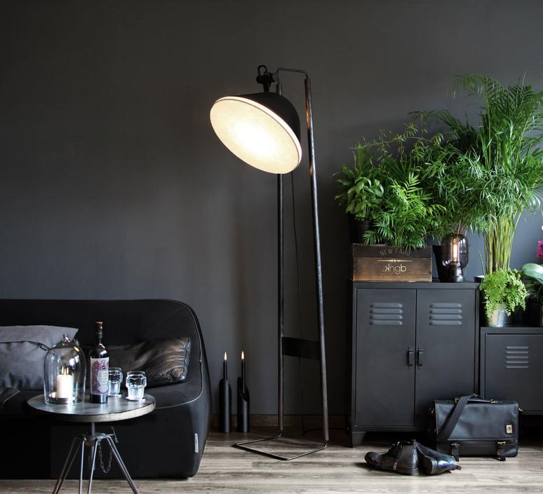 Lampadaire natacha kopec et gary berche lampadaire floor light  kngb kngb flooragneau bois brule  design signed nedgis 78159 product