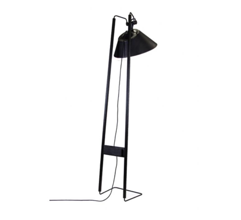 Lampadaire natacha kopec et gary berche lampadaire floor light  kngb kngb flooragneau bois brule  design signed nedgis 78164 product