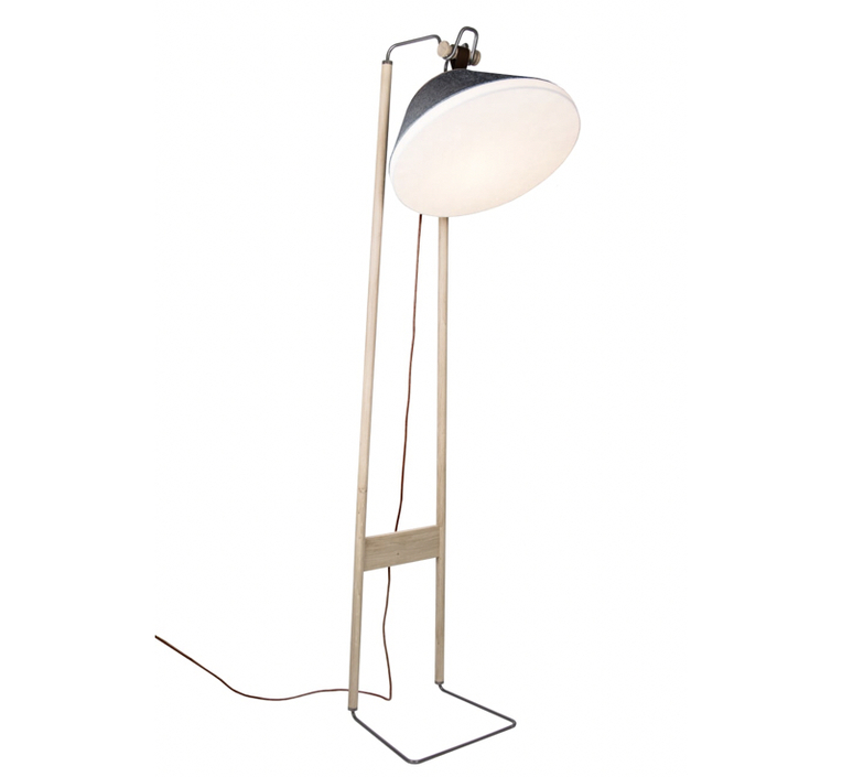 Lampadaire  lampadaire floor light  kngb kngb floorgris2 chene naturel  design signed nedgis 78154 product