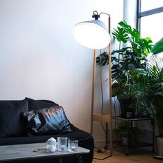 Lampadaire  lampadaire floor light  kngb kngb floorgris2 chene naturel  design signed nedgis 78155 thumb