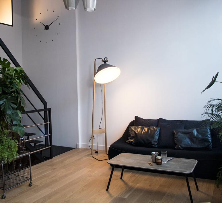 Lampadaire  lampadaire floor light  kngb kngb floorgris2 chene naturel  design signed nedgis 78157 product