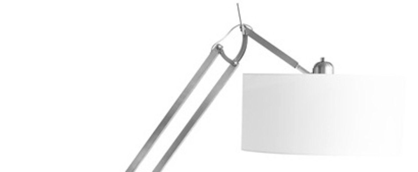 Lampadaire lampadaire milano gris o38cm h235cm it s about romy normal