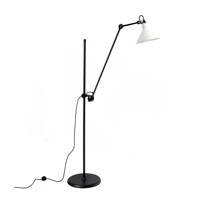 Lampe gras n 215 bernard albin gras lampadaire floor light  dcw n 215 bl wh conic  design signed nedgis 105821 product