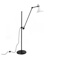 Lampe gras n 215 bernard albin gras lampadaire floor light  dcw n 215 bl wh conic  design signed nedgis 105821 thumb