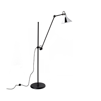 Lampadaire lampe gras n 215 chrome l32cm h150cm dcw editions paris normal