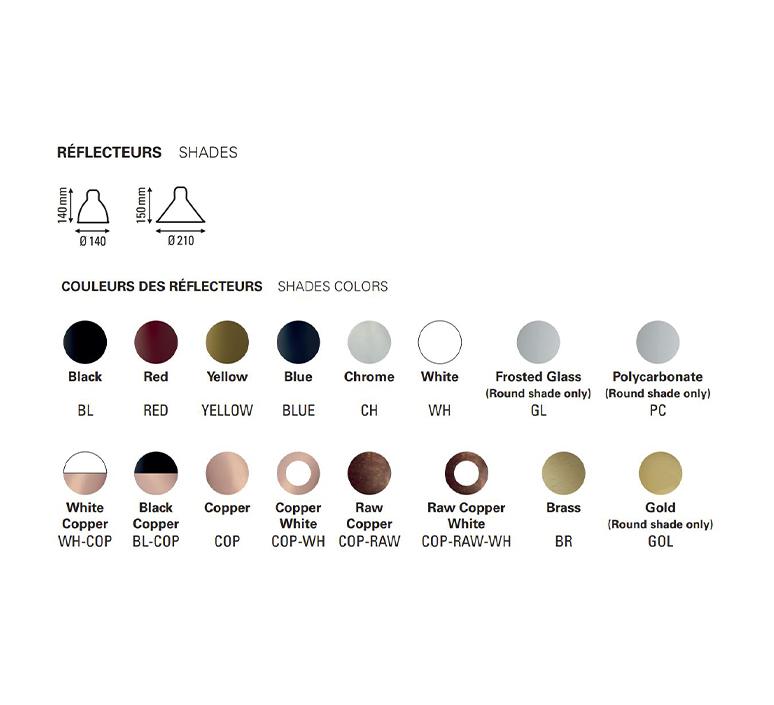 Lampe gras n 215 bernard albin gras lampadaire floor light  dcw n 215 bl cop raw conic  design signed nedgis 105807 product