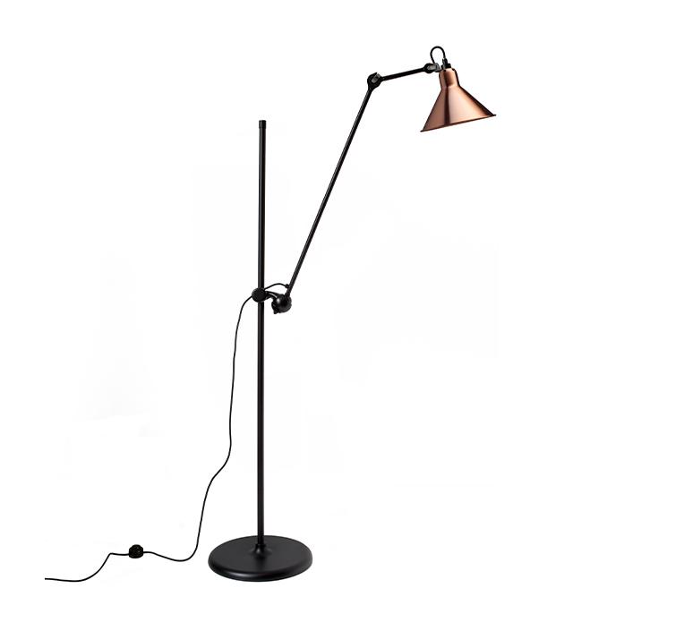 Lampe gras n 215 bernard albin gras lampadaire floor light  dcw n 215 bl cop conic  design signed nedgis 105800 product