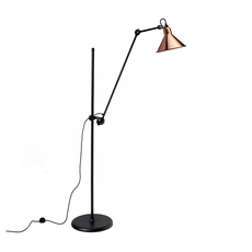 Lampe gras n 215 bernard albin gras lampadaire floor light  dcw n 215 bl cop conic  design signed nedgis 105800 thumb