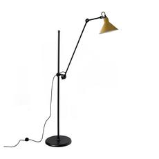 Lampe gras n 215 bernard albin gras lampadaire floor light  dcw n 215 bl yellow conic  design signed nedgis 105826 thumb