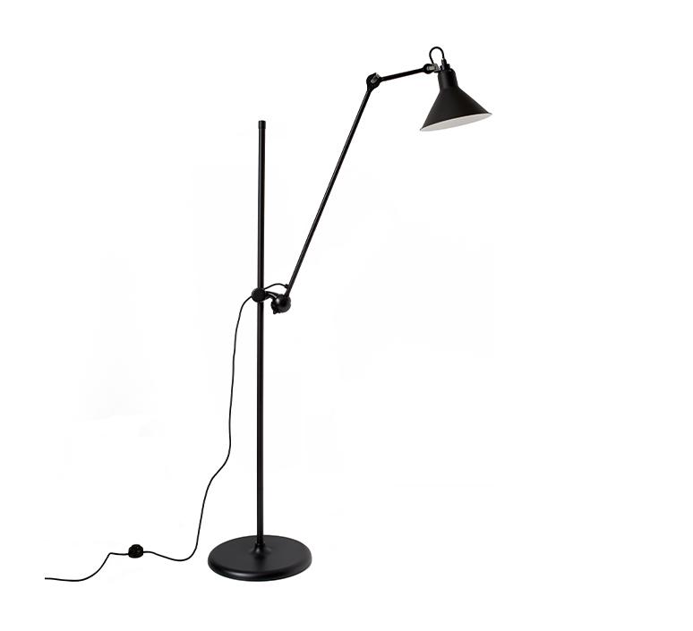 Lampe gras n 215 bernard albin gras lampadaire floor light  dcw n 215 bl bl conic  design signed nedgis 105767 product