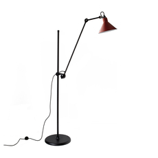 Lampe gras n 215 bernard albin gras lampadaire floor light  dcw n 215 bl red conic  design signed nedgis 105811 thumb