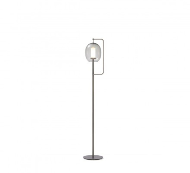Lantern light neri et hu lampadaire floor light  classicon lantern light floor lamp burnished brass  design signed 49853 product