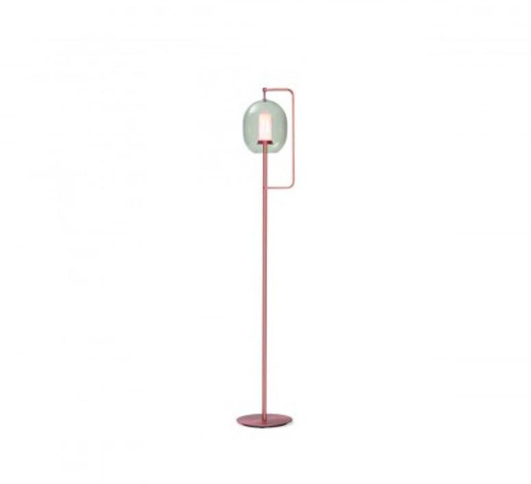 Lantern light neri et hu lampadaire floor light  classicon lantern light floor lamp coppered brass  design signed 49843 product