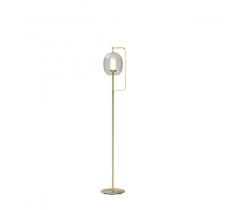 Lantern light neri et hu lampadaire floor light  classicon lantern light floor lamp brass  design signed 49838 product
