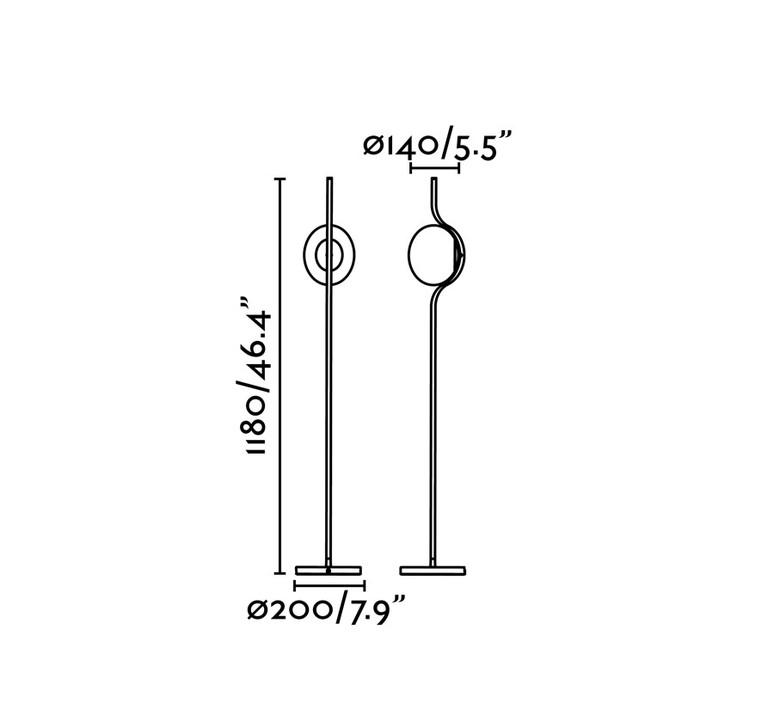 Le vita nahtrang design lampadaire floor light  faro 29693  design signed nedgis 63314 product