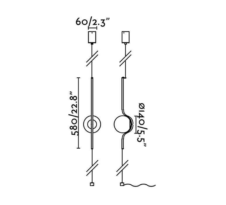 Le vita led lampe suspension lampadaire nahtrang lampadaire floor light  faro 29699  design signed nedgis 108448 product