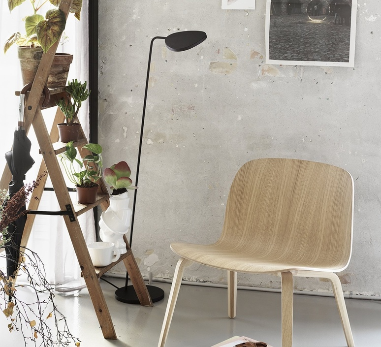 Leaf  broberg ridderstrale lampadaire floor light  muuto 13432  design signed nedgis 118546 product