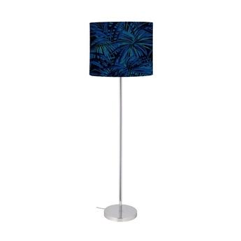 Lampadaire leaves bleu electrique o42cm h164cm ebb and flow normal