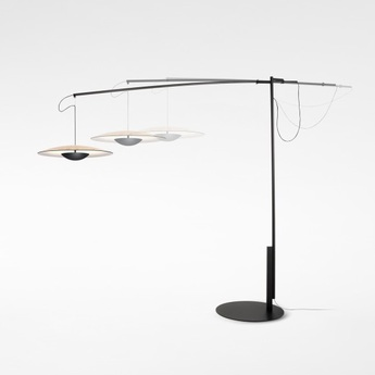 Lampadaire led ginger xl 42 chene h187cm marset normal