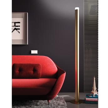 Lampadaire led pole or 3000k 3500 lm o22cm h190cm alma light normal
