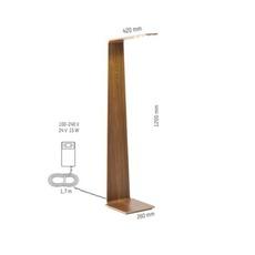 Led2 mikko karkkainen tunto led2 oak oak luminaire lighting design signed 12212 thumb