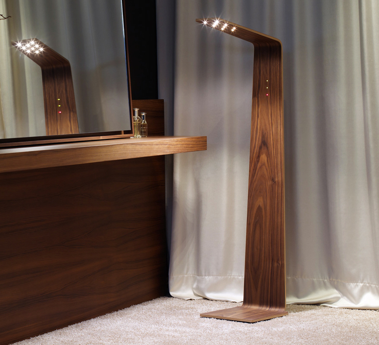 Led2 mikko karkkainen tunto led2 walnut walnut luminaire lighting design signed 12207 product