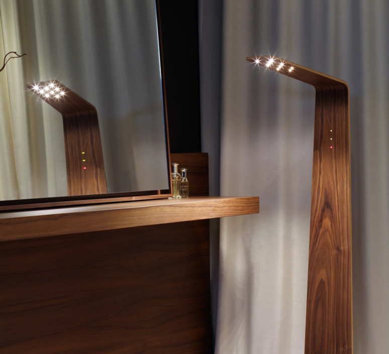 Led2 mikko karkkainen tunto led2 walnut walnut luminaire lighting design signed 12208 product