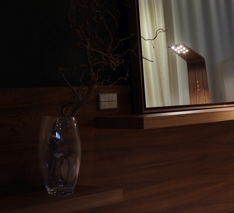 Led2 mikko karkkainen tunto led2 walnut walnut luminaire lighting design signed 12209 product