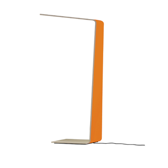 Lampadaire led2 orange h120cm tunto normal
