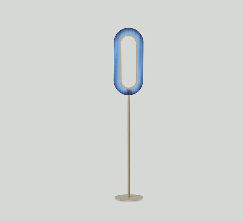 Lens oval mut design lampadaire floor light  lzf lens ov p iv led 28  design signed nedgis 76777 product