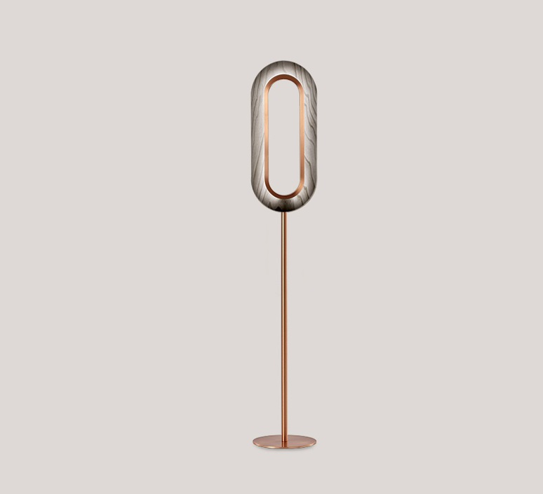 Lens oval mut design lampadaire floor light  lzf lens ov p co led 29  design signed nedgis 76839 product