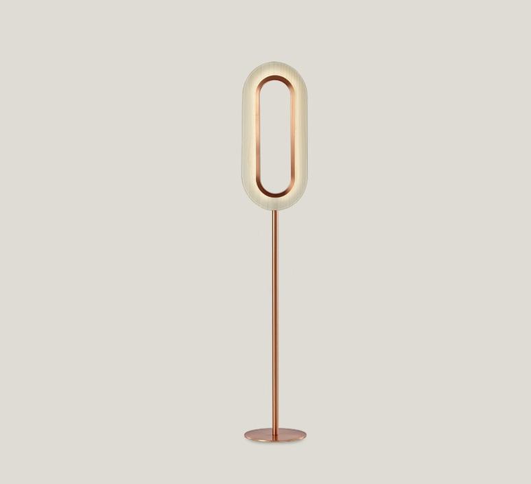 Lens oval mut design lampadaire floor light  lzf lens ov p co led 20  design signed nedgis 76837 product