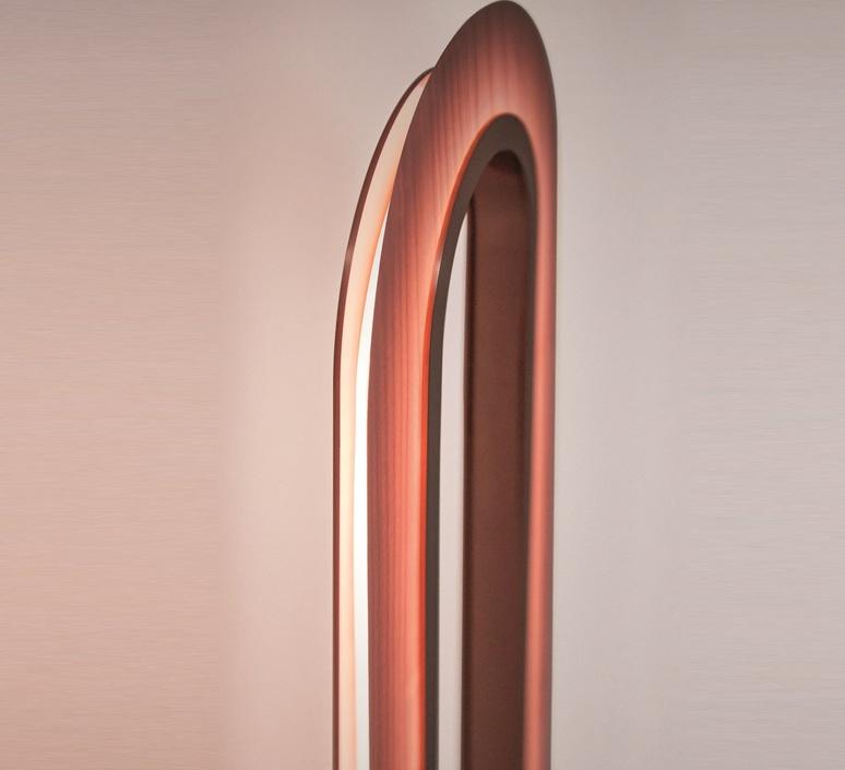 Lens oval mut design lampadaire floor light  lzf lens ov p co led 33  design signed nedgis 76884 product