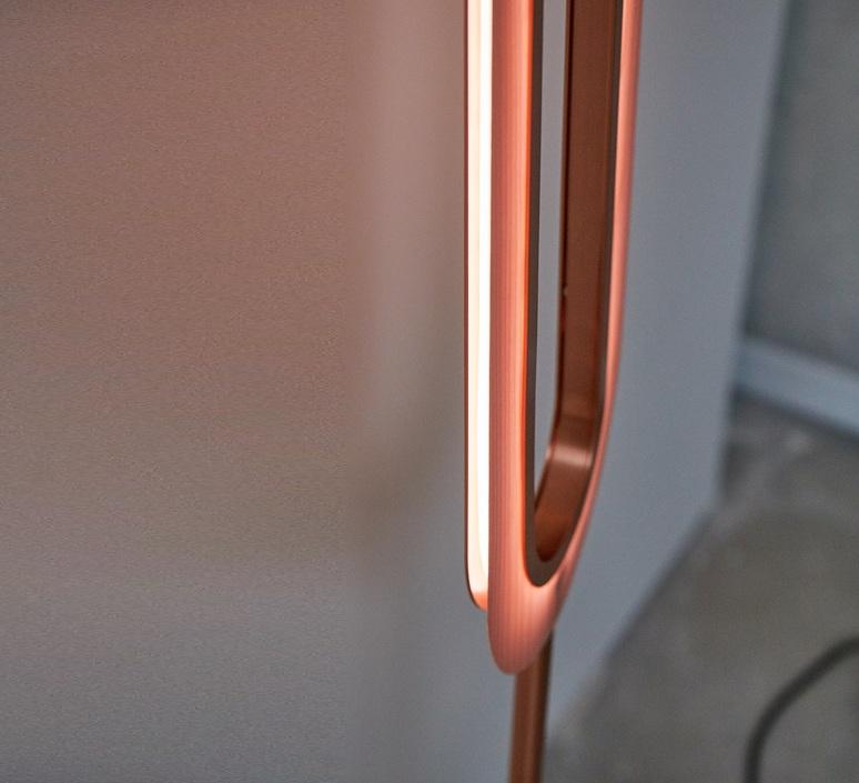 Lens oval mut design lampadaire floor light  lzf lens ov p co led 33  design signed nedgis 76885 product