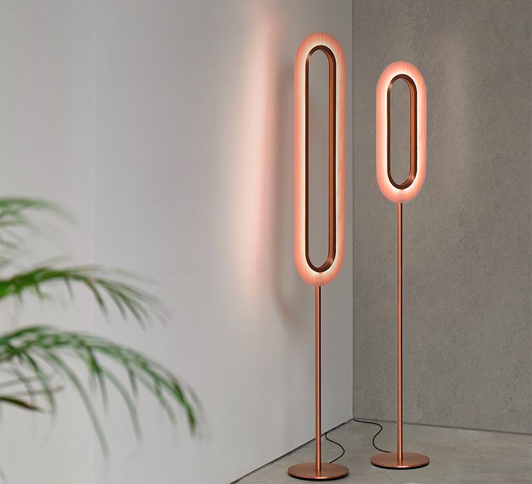Lens oval mut design lampadaire floor light  lzf lens ov p co led 33  design signed nedgis 76892 product
