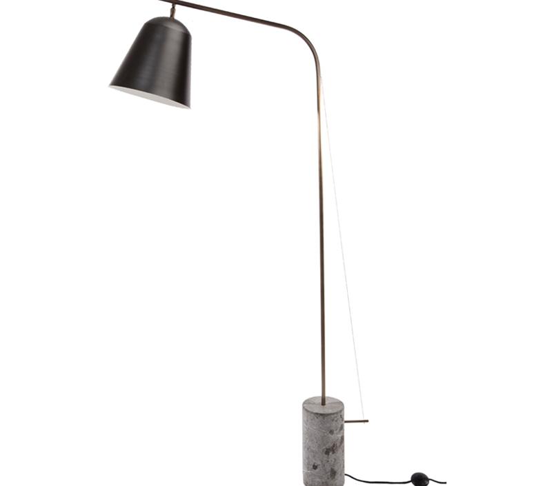 Line one rune krojgaard knut bendik humlevik lampadaire floor light  norr11 009009  design signed 37806 product