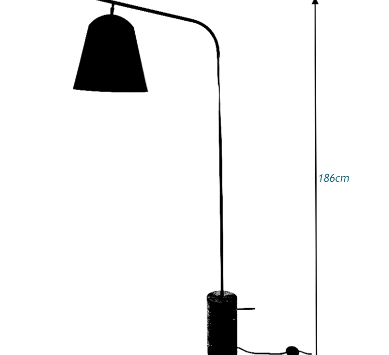 Line two rune krojgaard knut bendik humlevik lampadaire floor light  norr11 009010  design signed 37826 product
