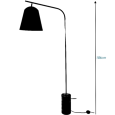 Line two rune krojgaard knut bendik humlevik lampadaire floor light  norr11 009010  design signed 37826 thumb