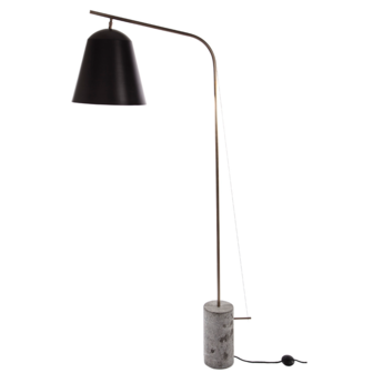 Lampadaire line two noir l95cm h186cm norr11 normal