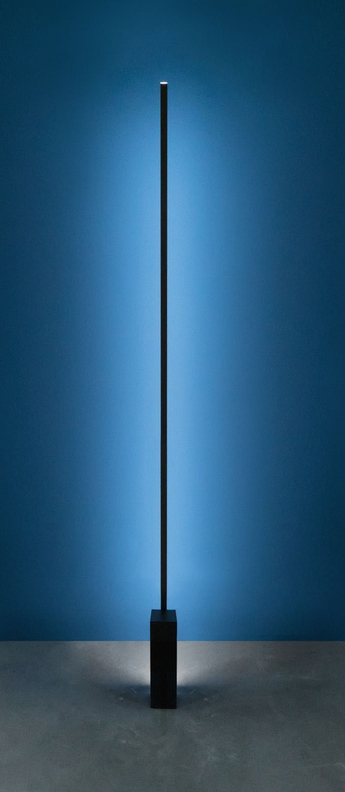 Lampadaire linescapes noir led l8cm h192cm nemo lighting normal