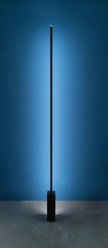 Lampadaire linescapes noir led l8cm h192cm nemo lighting normal