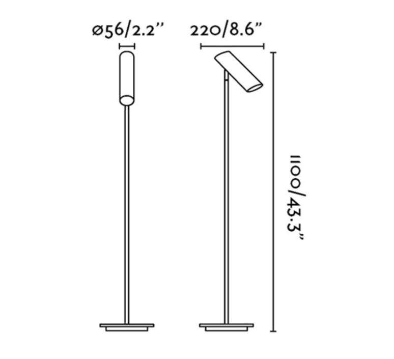 Link estudi ribaudi lampadaire floor light  faro 29883  design signed 40301 product