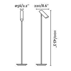 Link estudi ribaudi lampadaire floor light  faro 29883  design signed 40301 thumb
