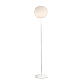 Lampadaire lita blanc o30cm h160cm luceplan normal