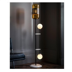 Lizak robbie llewellyn et adam yeats lampadaire floor light  bert frank lizak fl amber  design signed nedgis 75356 thumb