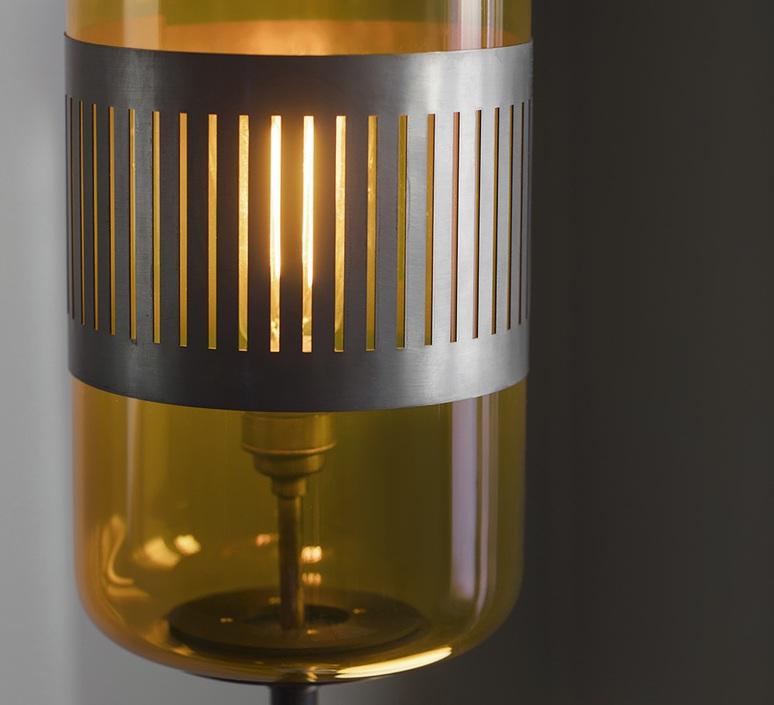 Lizak robbie llewellyn et adam yeats lampadaire floor light  bert frank lizak fl amber  design signed nedgis 75359 product