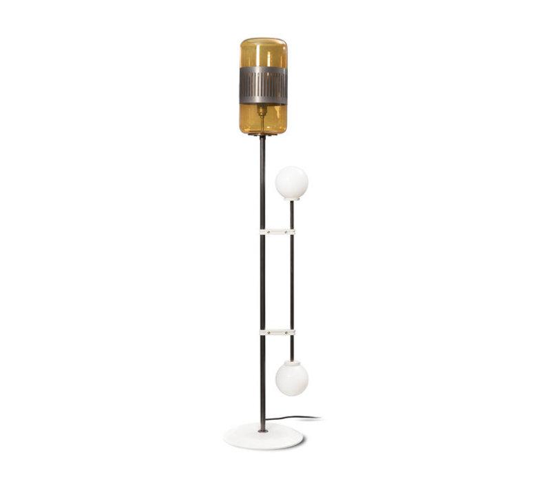 Lizak robbie llewellyn et adam yeats lampadaire floor light  bert frank lizak fl amber  design signed nedgis 75360 product