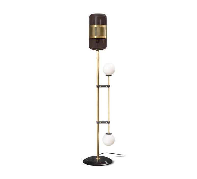 Lizak robbie llewellyn et adam yeats lampadaire floor light  bert frank lizak fl smoked  design signed nedgis 75366 product